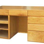 Bàn làm việc gỗ sồi Mỹ EUF 339 - 150 x 50 x 80cm