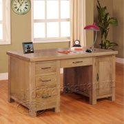 bàn làm việc gỗ sồi Mỹ - 150 x 60 x 80cm