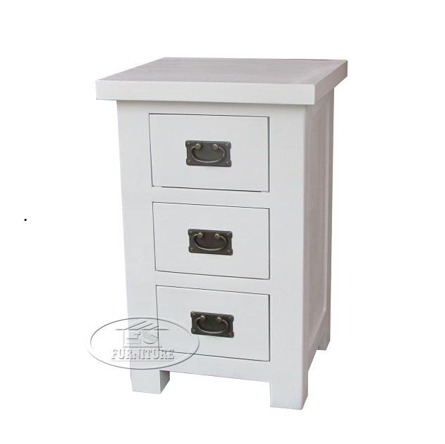 tủ nhỏ 3 ngăn kéo gỗ sồi EUF 194W