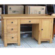 bàn làm việc gỗ sồi Mỹ (2)