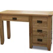 Bàn làm việc - bàn học sinh gỗ sồi Mỹ 120 x 45 x 80cm