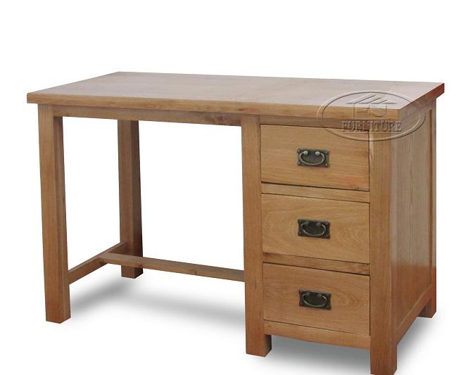 Bàn làm việc bàn học sinh gỗ sồi Mỹ 120 x 50 x 80cm