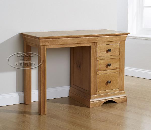 bàn làm việc bàn học sinh gỗ sồi mỹ - 107 x 47 x 78cm