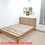 giường gỗ sồi Mỹ giá tốt