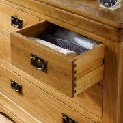 tủ 4 hộc kéo gỗ sồi Mỹ (1)