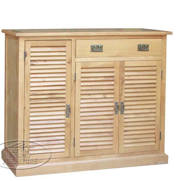 tủ giày gỗ tự nhiên