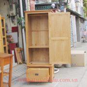 tủ áo gỗ sồi mỹ 1 cánh cửa (1) - Copy