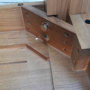 bàn ăn kéo giãn gỗ sồi (3)
