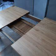 bàn ăn kéo giãn gỗ sồi (5) - Copy