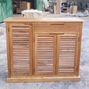 tủ giày dép gỗ sồi (14)