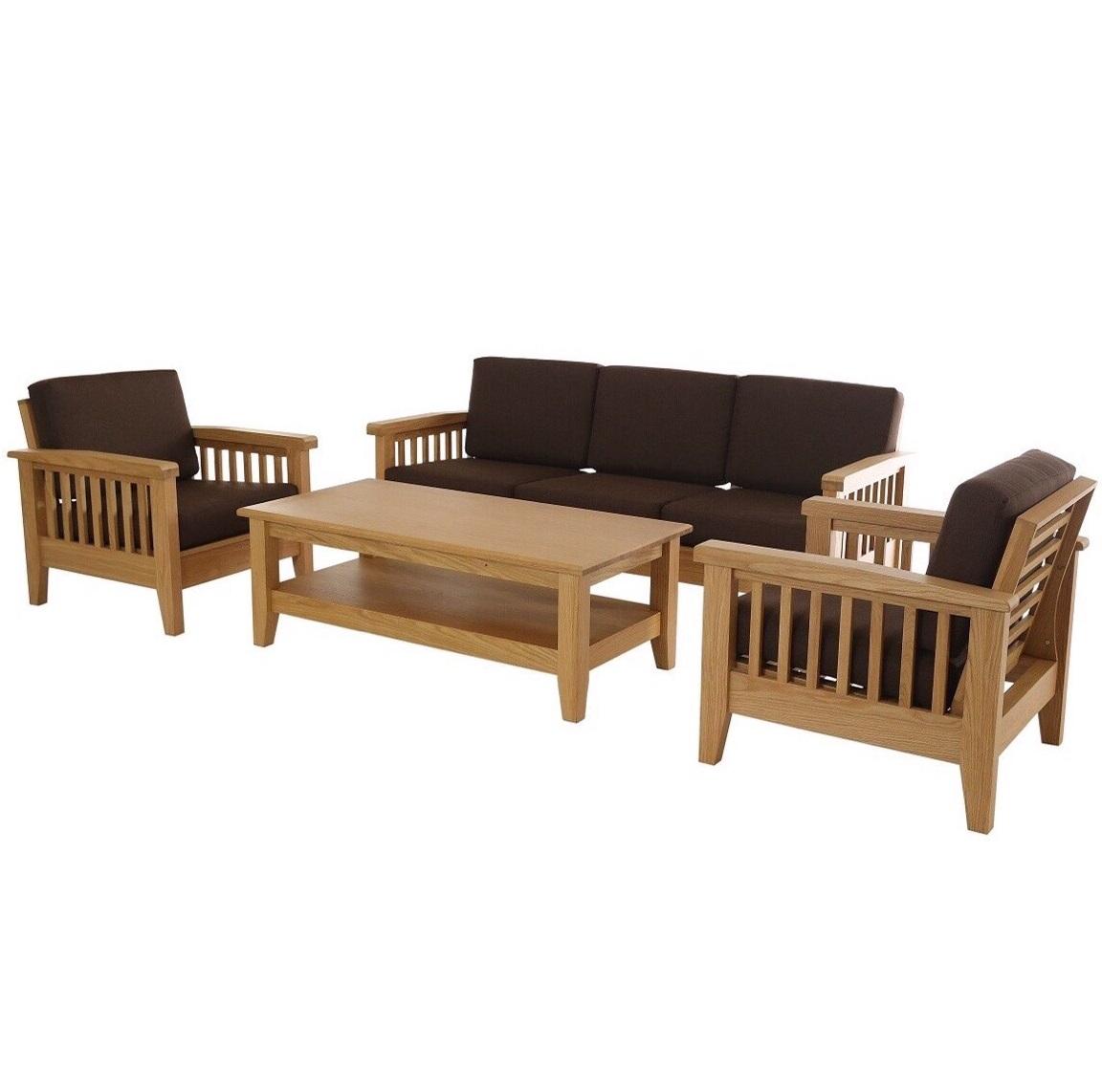 sofa gỗ sồi Mỹ (1)