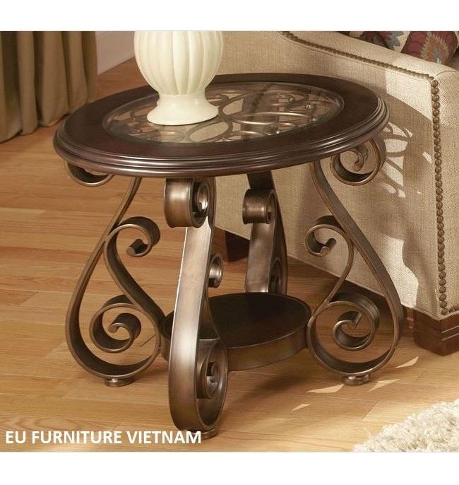 Standard Living Furniture Bombay end table Tables 👉Chất lượng mẫu mã đạt tiêu chuẩn 5* 👉SALE Giá chỉ bằng 1/3 xuất khẩu 👉Nguyên đai nguyên kiện to USA 👉Consle Table: Dài 137cm x R50cm x Cao 78cm ( Bàn trang trí) 👉Sofa Table: Dài 130cm x R70cm x Cao 48cm ( Bàn sofa) 👉End Table: D65cm x Cao 60cm ( bàn tròn nhỏ)