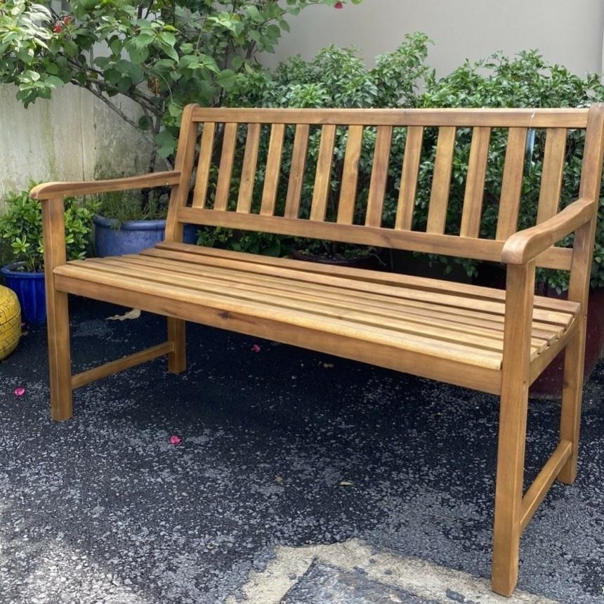 ghế băng gỗ tràm