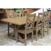 bàn ăn gỗ thanh lý