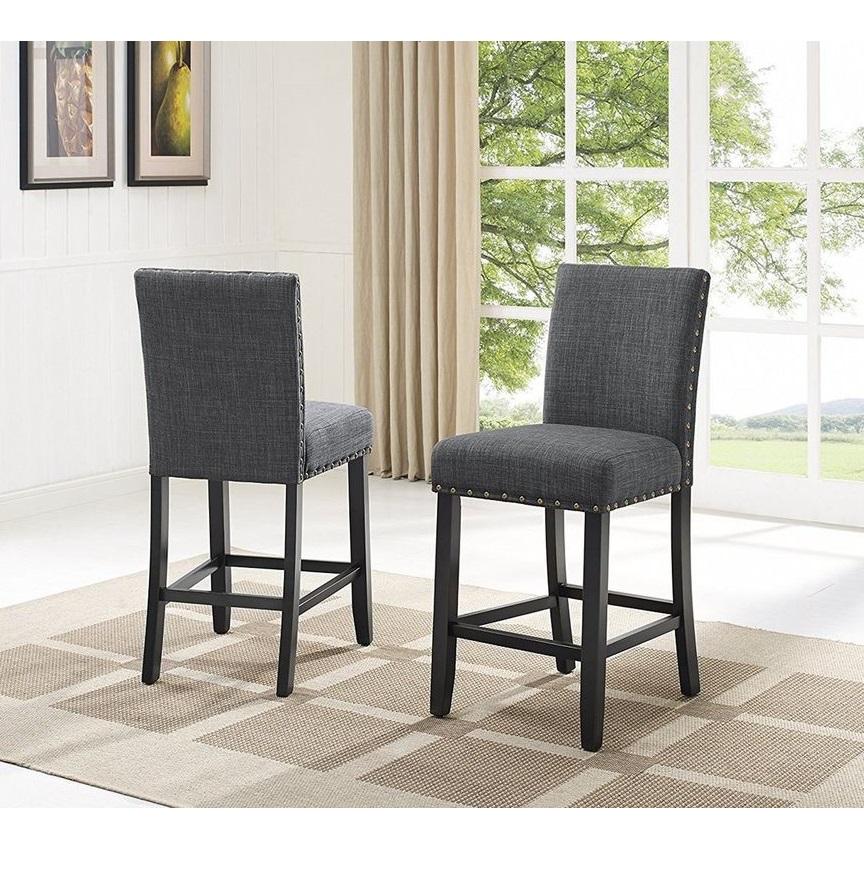 ghế thanh lý Ghế Sidechair gỗ thông xuất dư SALE: 600.000đ/cái Ghế màu xanh đen nệm ghế màu xám KT: Dài 46 x Sâu 50 x Cao mặt ghế 63/ lưng ghế 102 cm