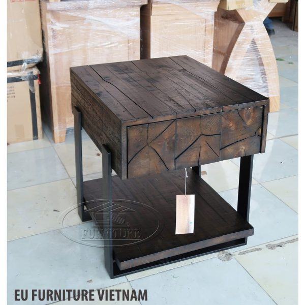 bàn gỗ giả cổ magnussen