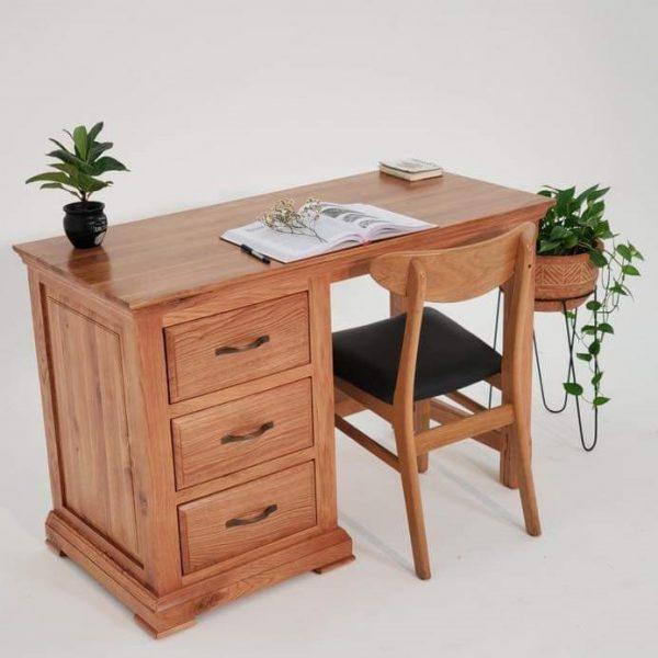 bàn học bàn làm việc gỗ sồi Mỹ