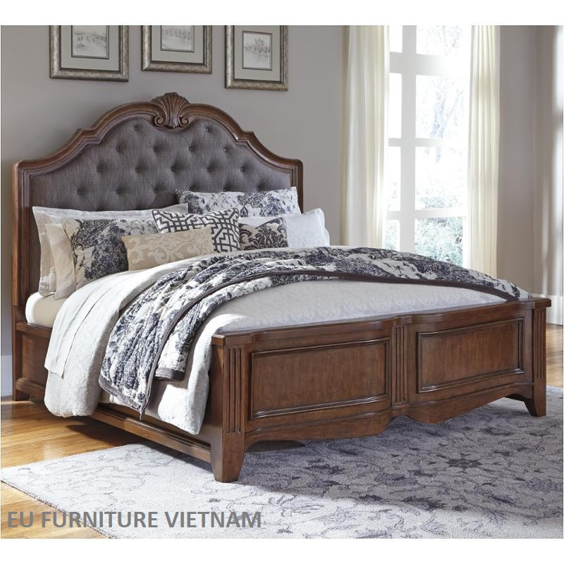 🏆 B708-78 Ashley design kingbed