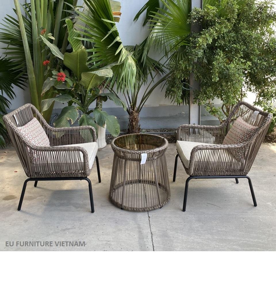 bộ bàn ghế sân vườn xuất khẩu